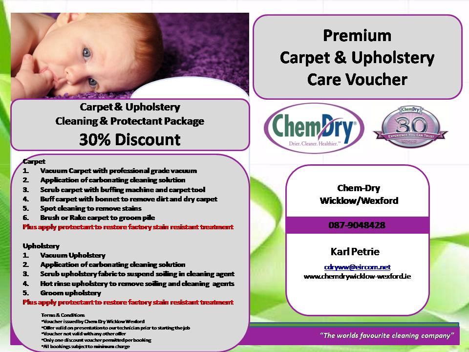 Chem Dry Premium Carpet Amp Upholstery Care Package Chem Dry